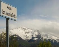 La Bisalta vista da piazza Antonio Dutto