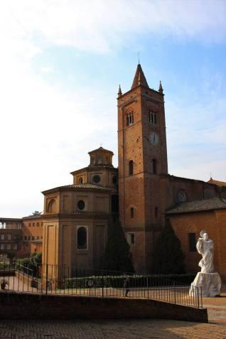 vista del campanile abbazia