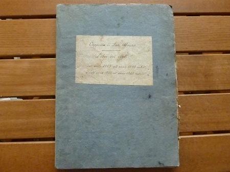 copertina libro 1763 - 1849