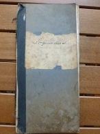 Libro contabile 1940 e seguenti