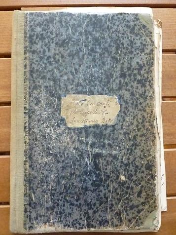 Libro contabile iniziato nel 1914