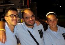 Enrico, Fabio e Carola