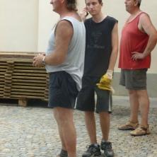 Graziano, suo figlio e Franco Dutto