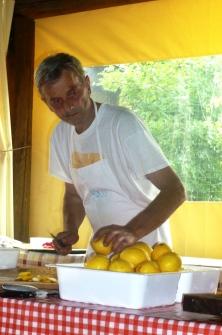 Battistino Dutto e i limoni