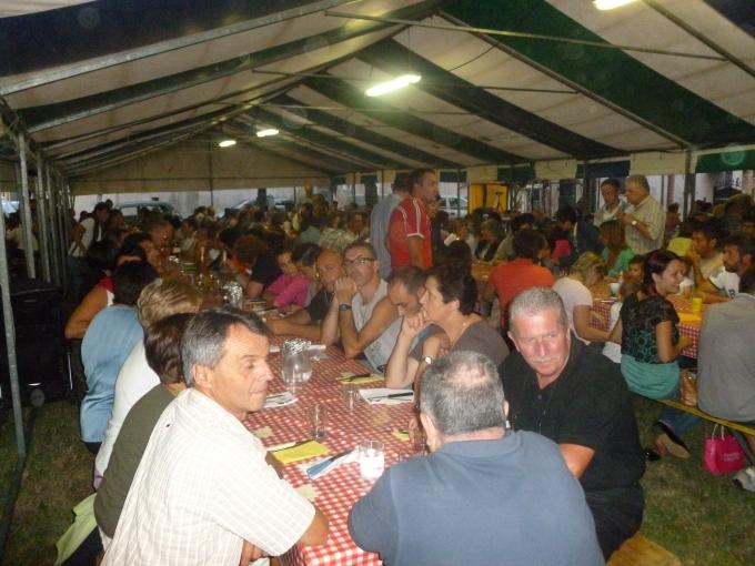Oltre 500 commensali alla cena di pesce