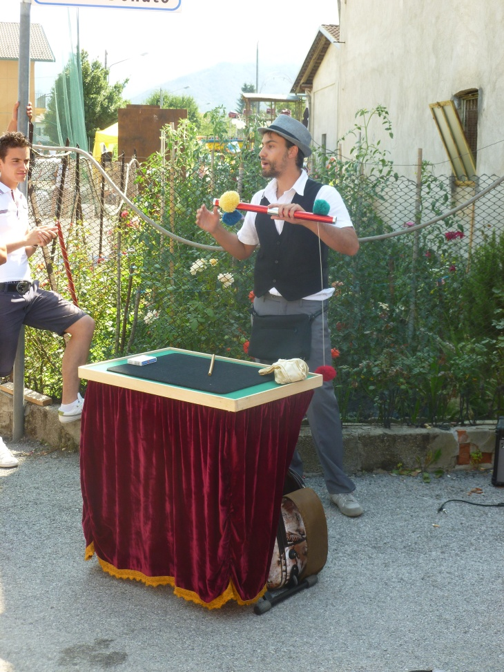 spettacolo di magia con Stefano Bocci