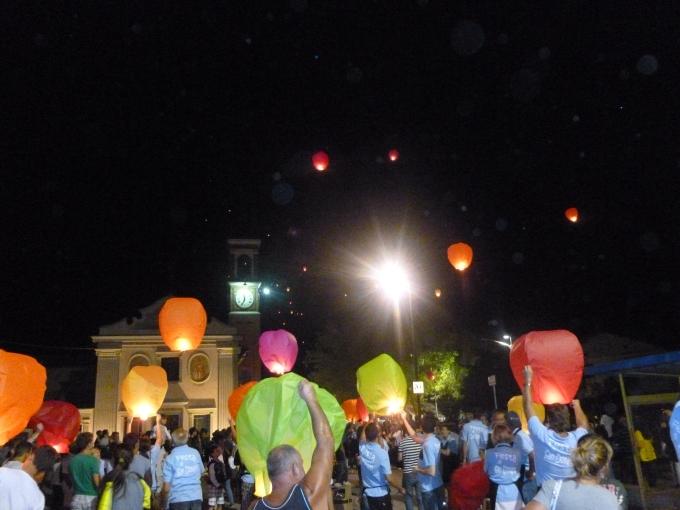 Lanterne in volo