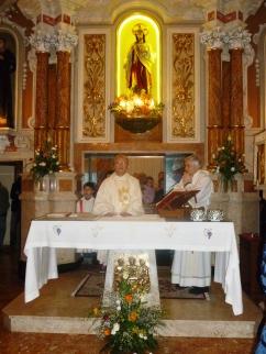 Grazie è stata la prima parola di don Martino in chiesa a San Mauro