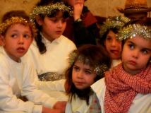 Sguardi di Natale: angioletti un po' dubbiosi